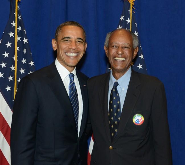 ET WIlliams and Barak Obama