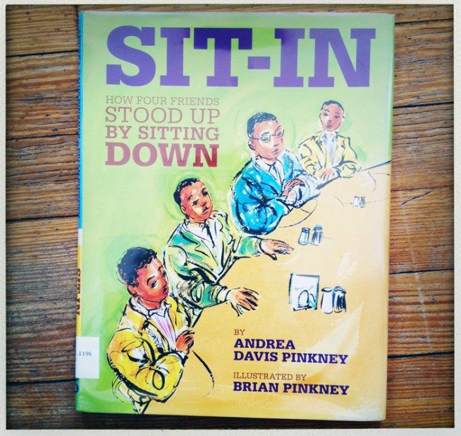 sit in by Andrea and Brian Pinkney