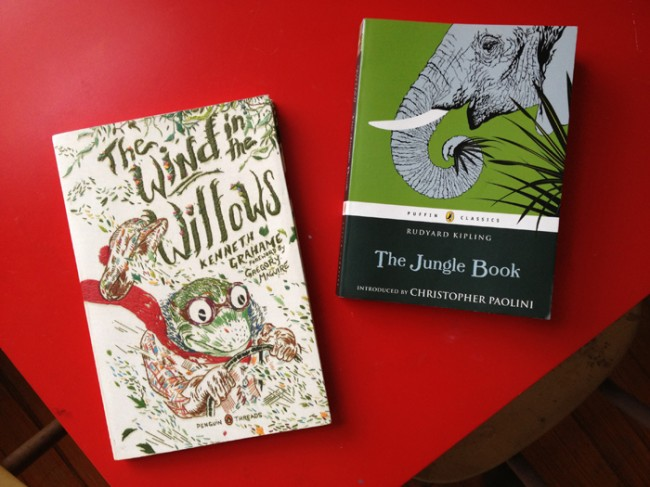 wind in the willows and the jungle book
