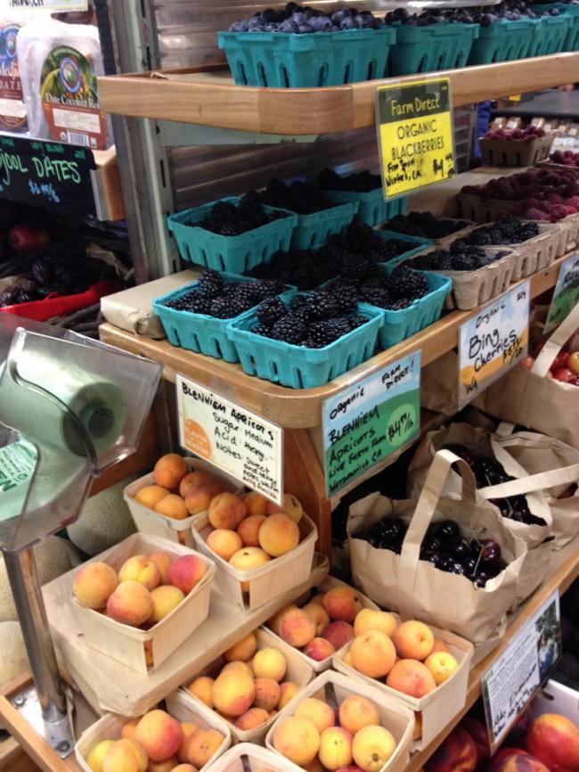 fruit at bi rite in San Francisco