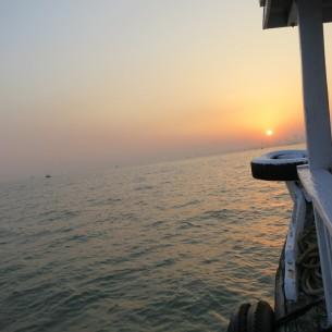 off the coast of Mumbai