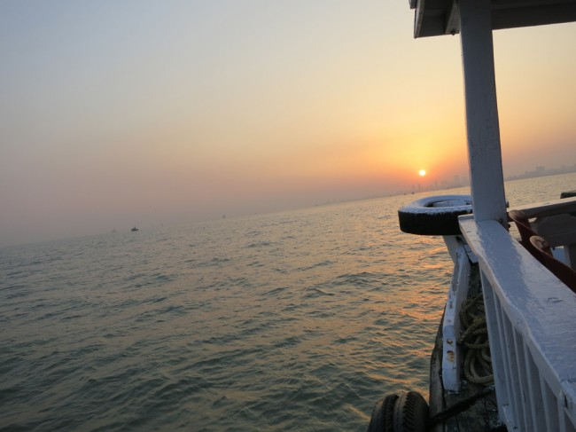 off the coast of Mumbai