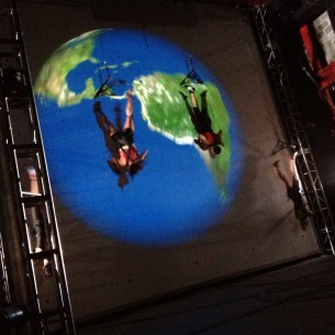 Streb dancers perform at SLAM