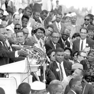 ET Williams at the March on Washington, 50 years ago