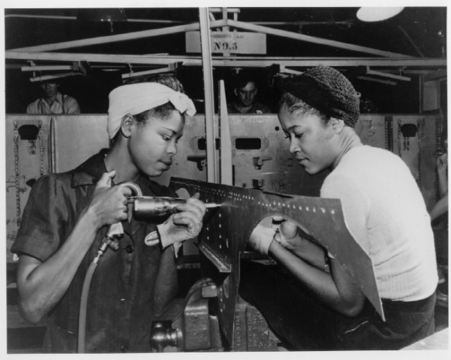 wwII riveters