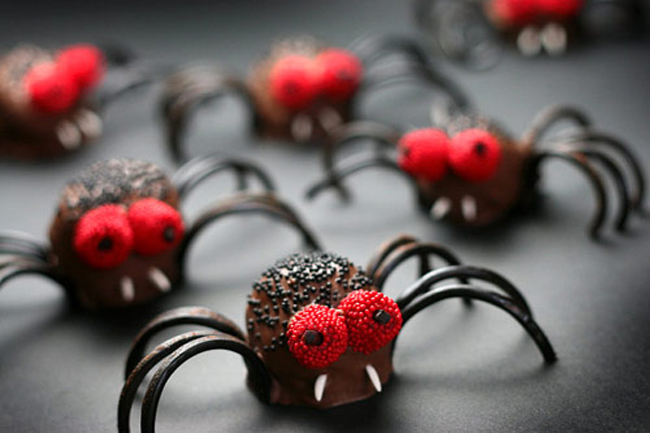 spider sweets from bakerella