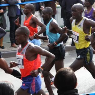 Geoffrey Mutai of Kenya