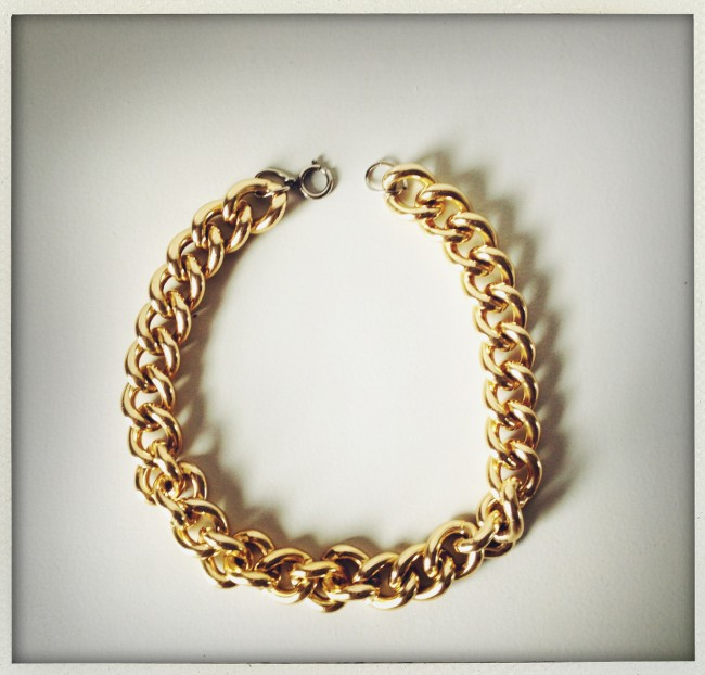 vintage 'gold' necklace