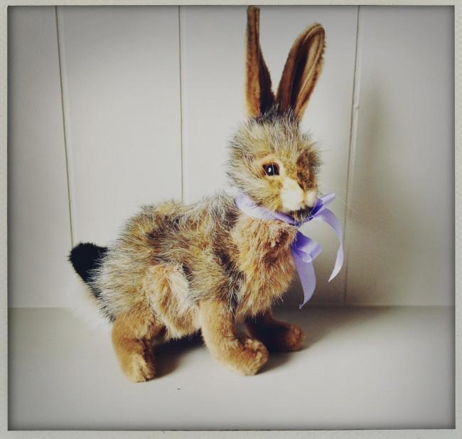 hansa stuffed rabbit