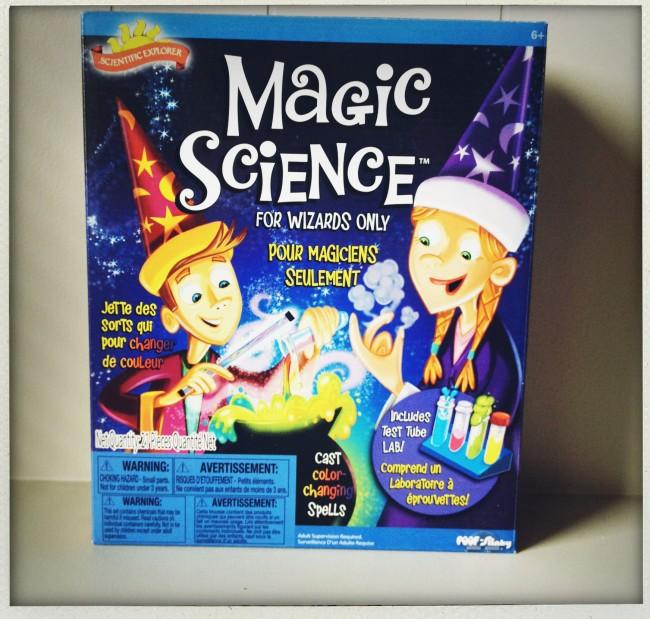 magic science kit