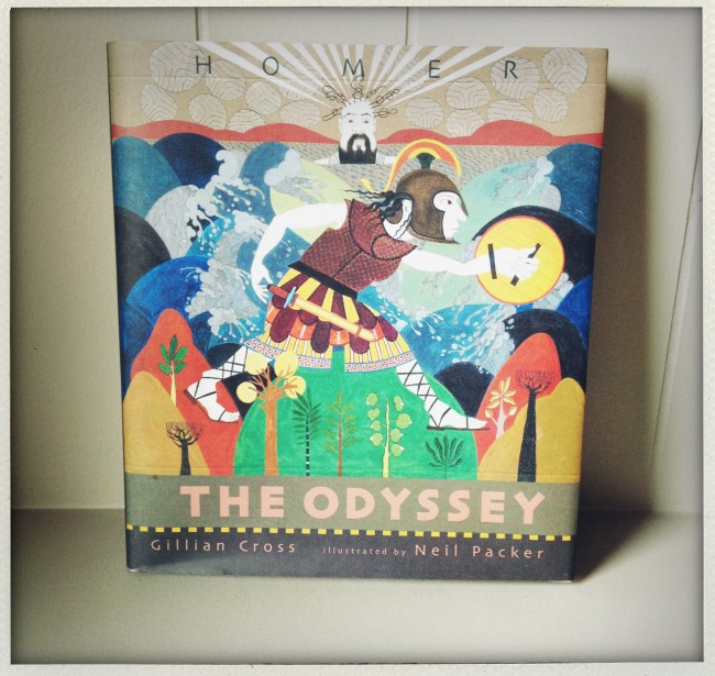 odyssey re told by Gillian Cross
