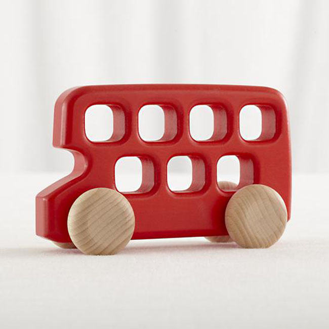 wooden bus from land of nod