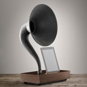 ipad grammophone