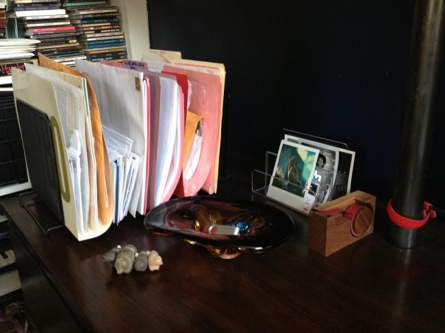 cleaner desk