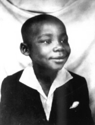 Michael (later Martin) Luther King, Jr as a young boy in Atlanta, GA