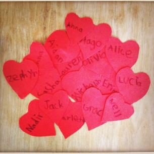 heart tags for valentines