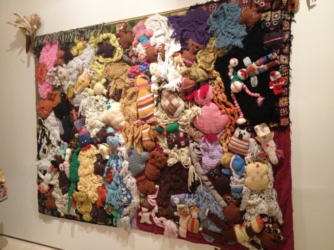 Mike Kelley quilt