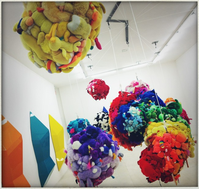 Mike Kelley stuffed animals