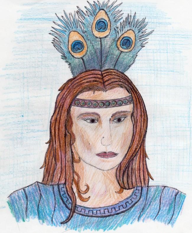 """""""Goddess Hera"""" by Odysseus Glaucos Osborne"""