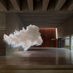 An indoor cloud by Berndnaut Smilde. Photo courtesy hifructose.com