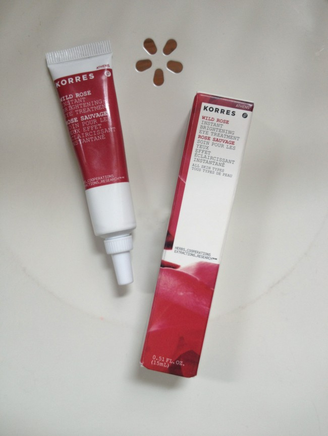 Wild Rose eye treatment by Korres