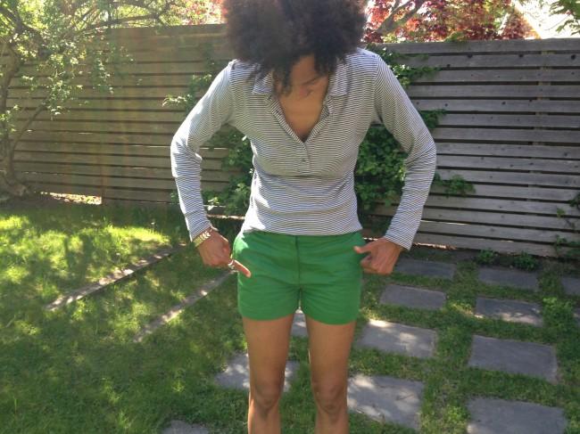 Tess Giberson shorts