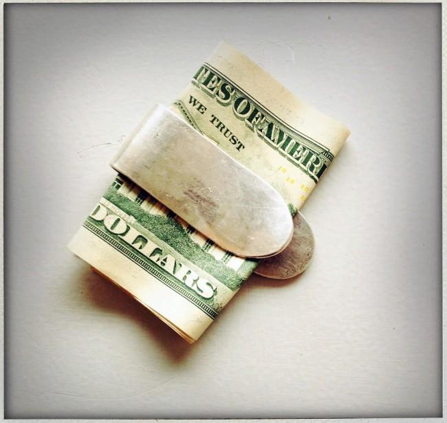 money clip by Jill Platner