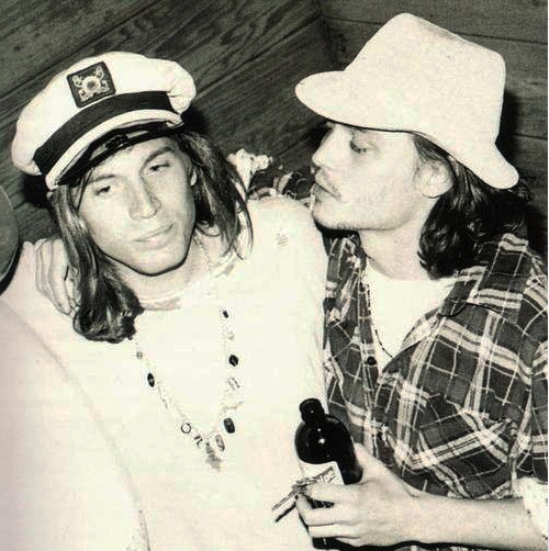 evan dando johnny depp LA 1992