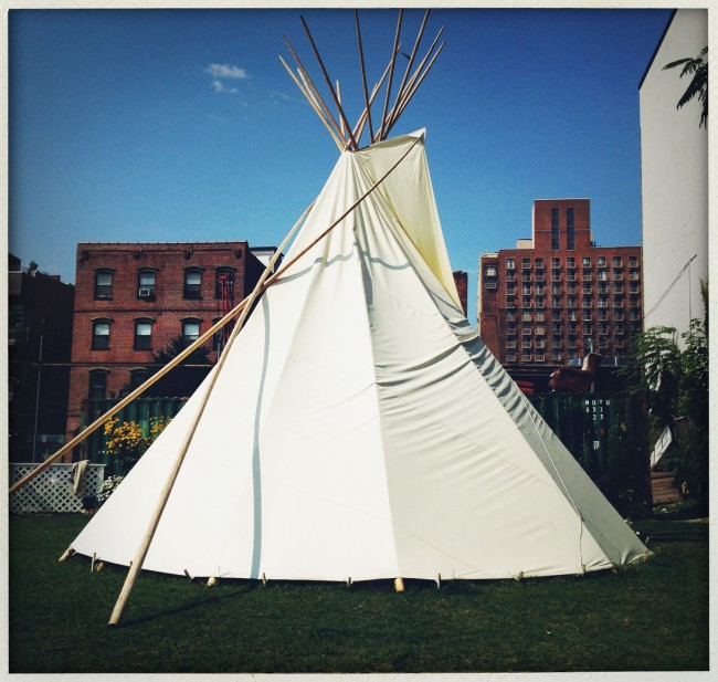 tipi havemeyer park brooklyn