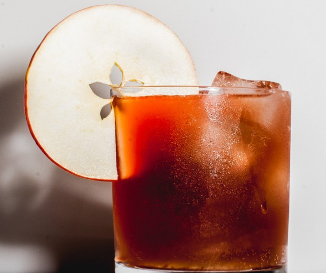 honey apple brandy cocktail