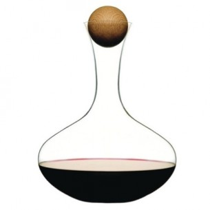 A beautiful wine carafe by Sagaform.