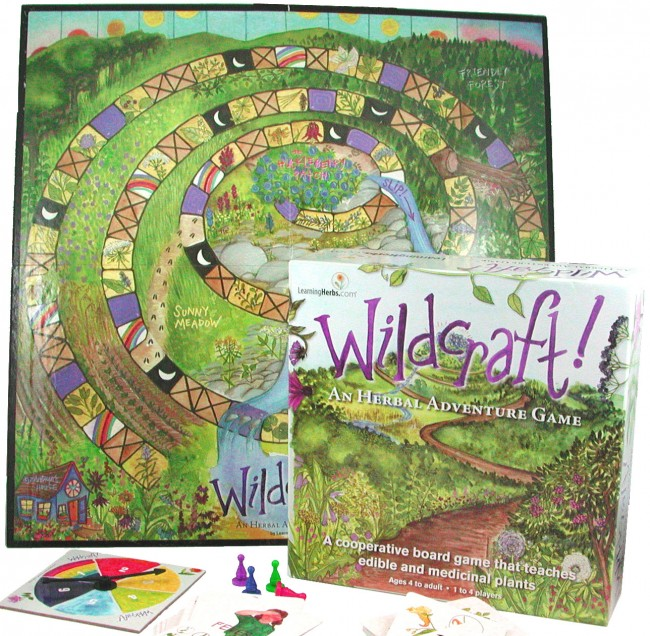 wildcraft game from learning herbs