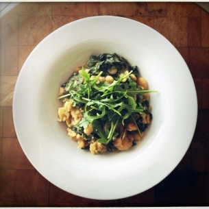 Bon Appetit white bean and greens stew