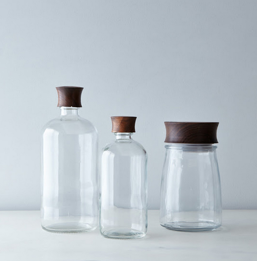 Hand turned glass jars by Boston Bottle. On Food52. Photo by Bobbi Lin