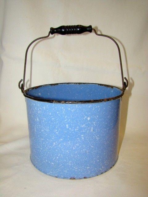enamel pail from ebay