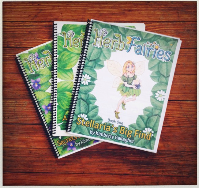 The first three books in the Herb Fairies series tell about about chickweed, violet and plantain.