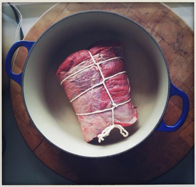 tied roast