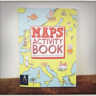 Maps Activity Book by Aleksandra Mizielinska and Daniel Mizielinski