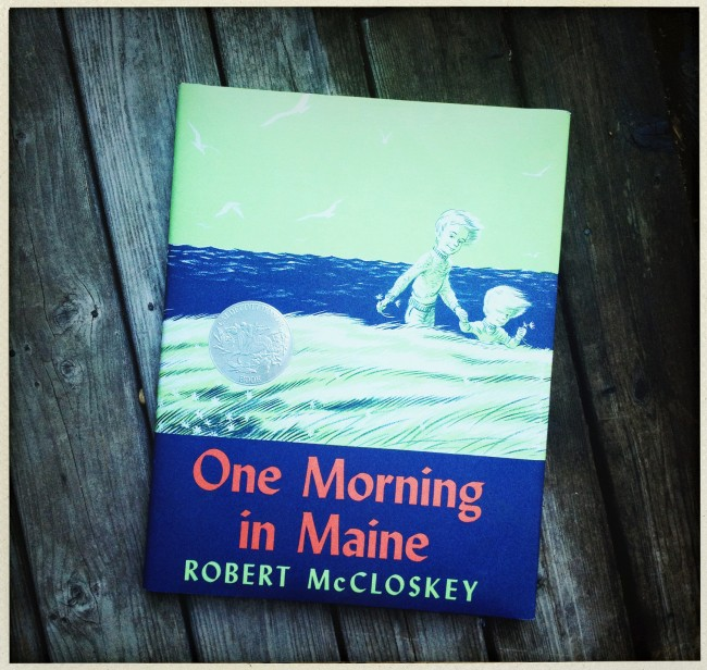 One Morning in Maine, another Caldecott Honor book by Robert McClosky