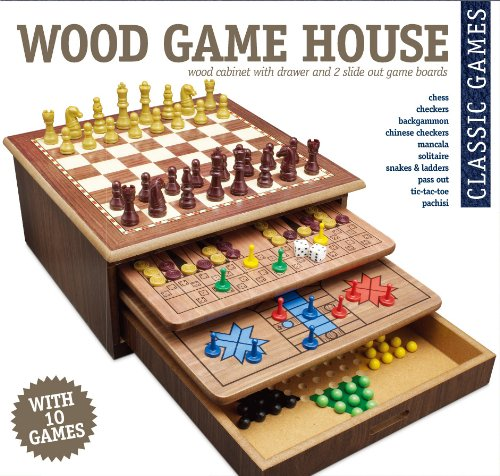 wooden game house