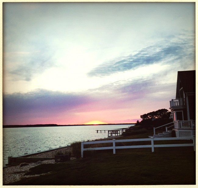 shelter island sunset by brooke williams