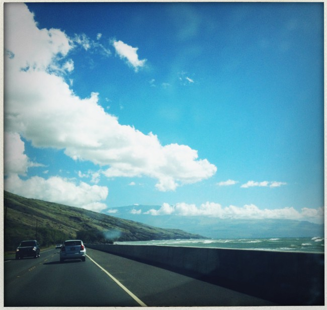 Ok so this is not the Long Island Expressway mentioned below, but it is a road that I have driven on during the past year. In Hawaii. I wish I were there now, to be honest. Podcast or no podcast.