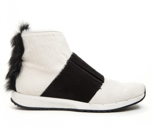 Shearling Evi booties by Zero Maria Cornejo.