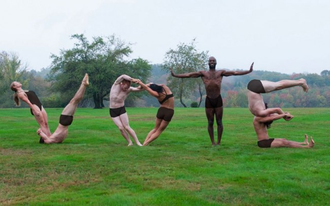 Getting out the vote, Pilobolus style. Photo by Robert Whitman.