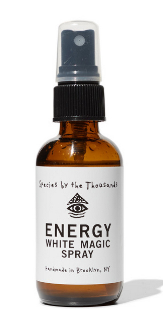 white magic energy spray