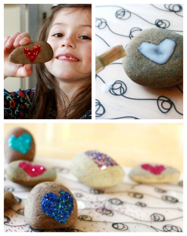 glitter rocks