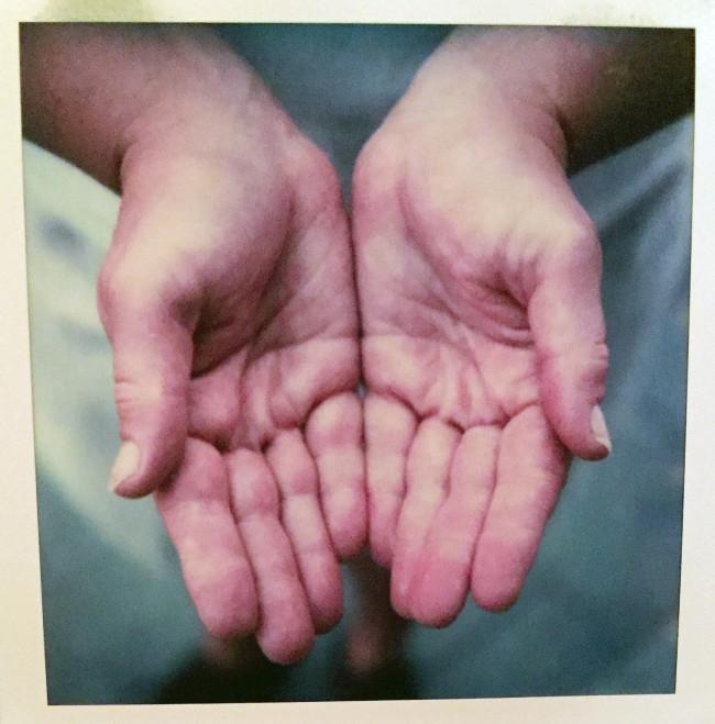 SX-70 hands