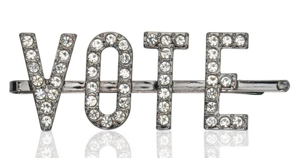vote bobby pin